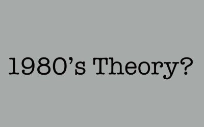 "1980s Debate Theory is Not ""Traditional"""