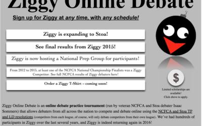 See You on ZiggyDebate!